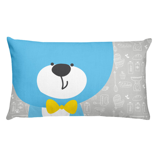 Premium Pillow_Baking Bear Grey
