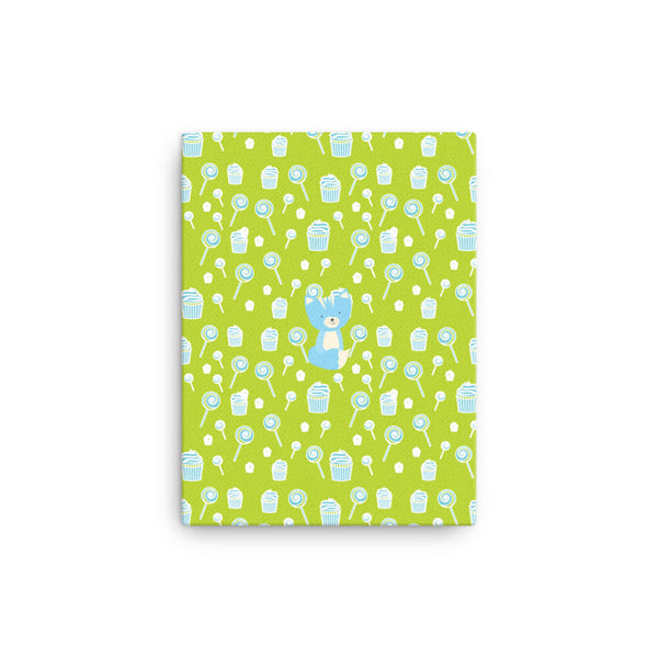Canvas_Sweetie Smarty Pants Green Blue