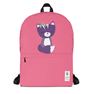 Backpack_Solid Pink Smarty Pants