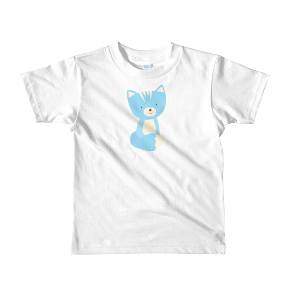 Kids T-Shirt_Sweetie Smarty Pants Green Blue