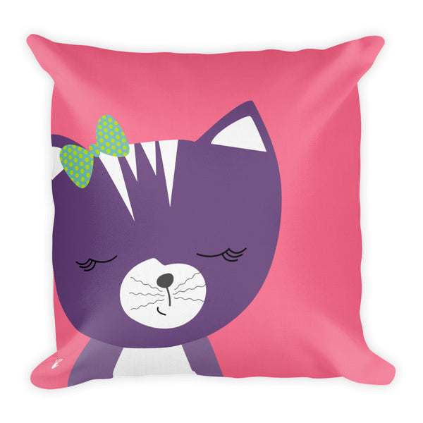 Premium Pillow_Solid Pink Smarty Pants