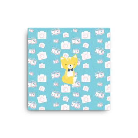 Canvas_Say Cheese Smarty Pants Blue