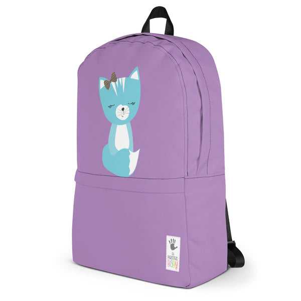 Backpack_Solid Purple Smarty Pants