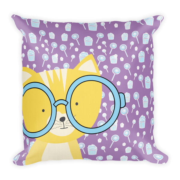 Premium Pillow_Sweetie Smarty Pants Purple