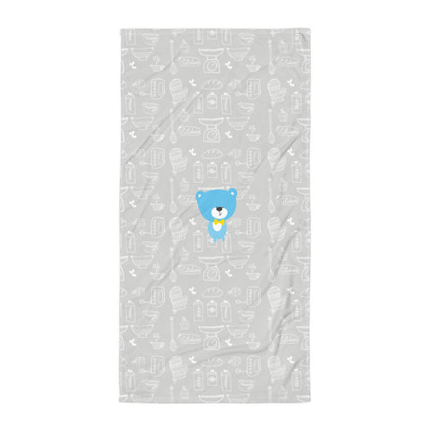 Towel_Baking Bear Grey