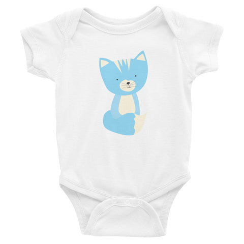 Infant Bodysuit_Sweetie Smarty Pants Green Blue