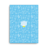 Canvas_Baking Bear Blue