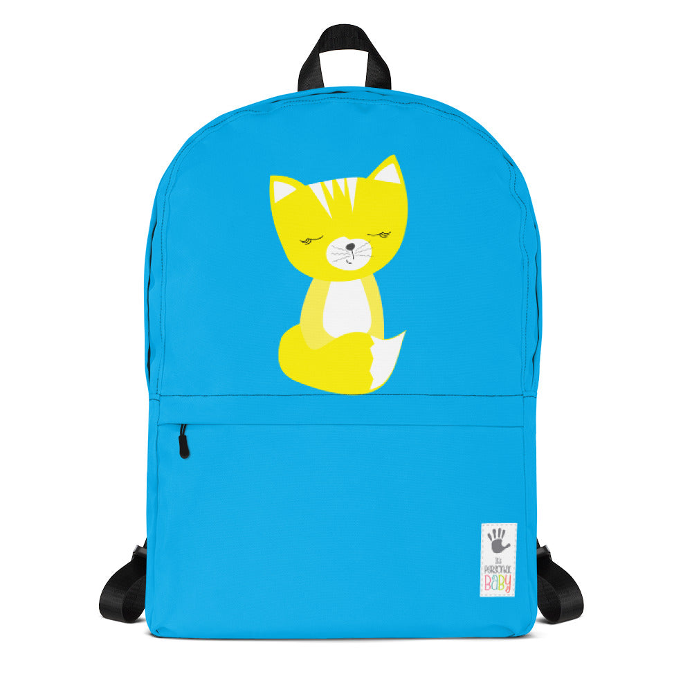 Backpack_Solid Blue Smarty Pants
