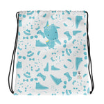 Drawstring Bag_Alternative Whinno Dino White
