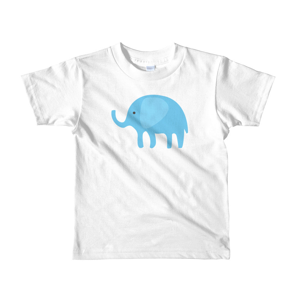 Kids T-Shirt_I Love You Elephant Green