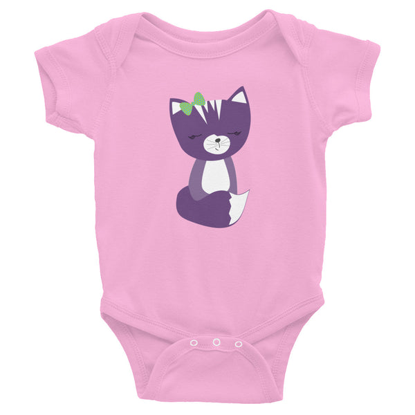 Infant Bodysuit_Solid Pink Smarty Pants