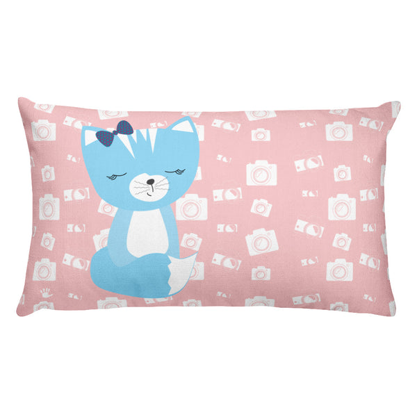 Premium Pillow_Say Cheese Smarty Pants Pink