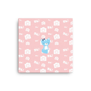 Canvas_Say Cheese Smarty Pants Pink