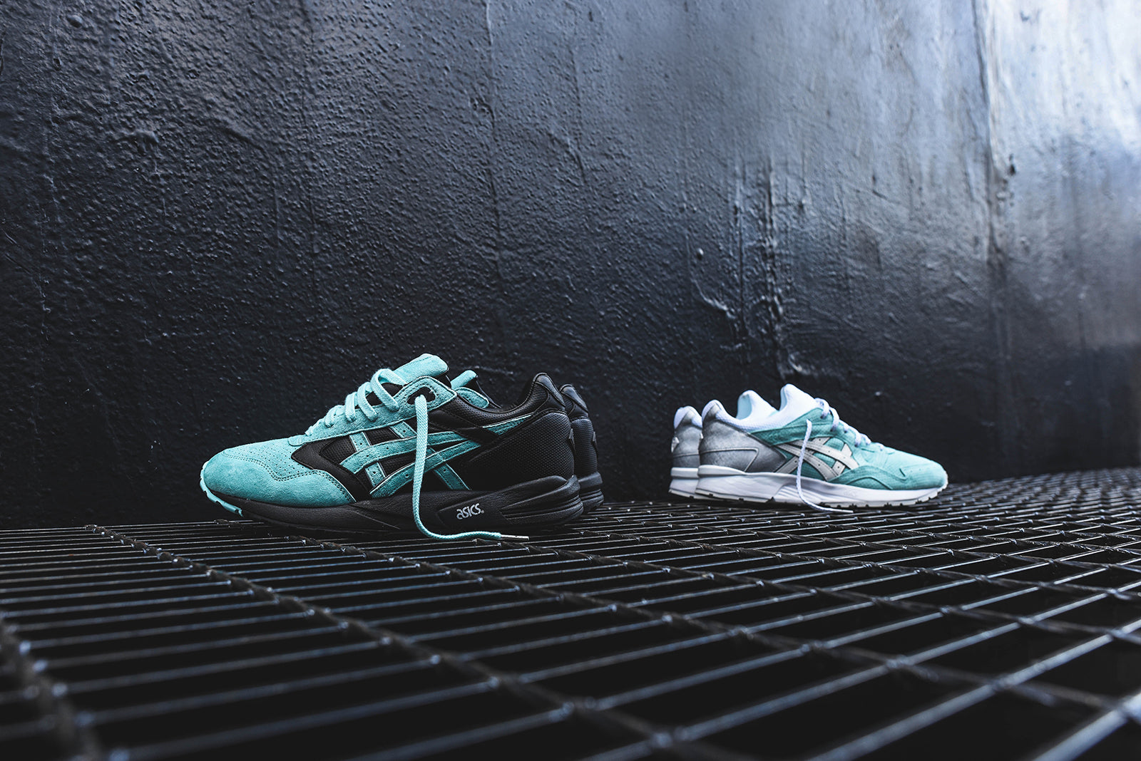 Ronnie Fieg x Diamond Supply Co. x Asics Gel Saga & Gel Lyte V