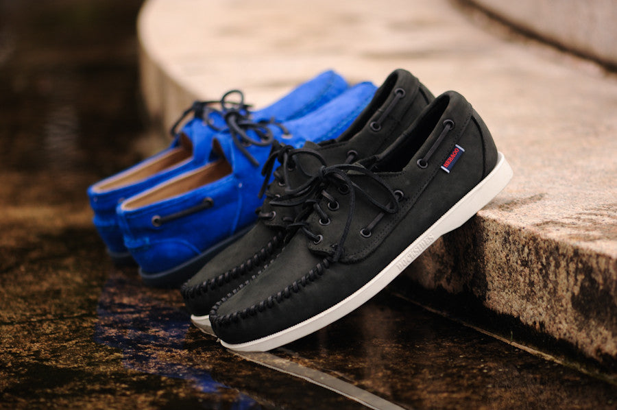 ff49f6dfd08d3 Chapter 3 of the Ronnie Fieg for Sebago line continues with the Almani ,  consisting of a split upper and classic features. The shoe is designed with  a bold ...