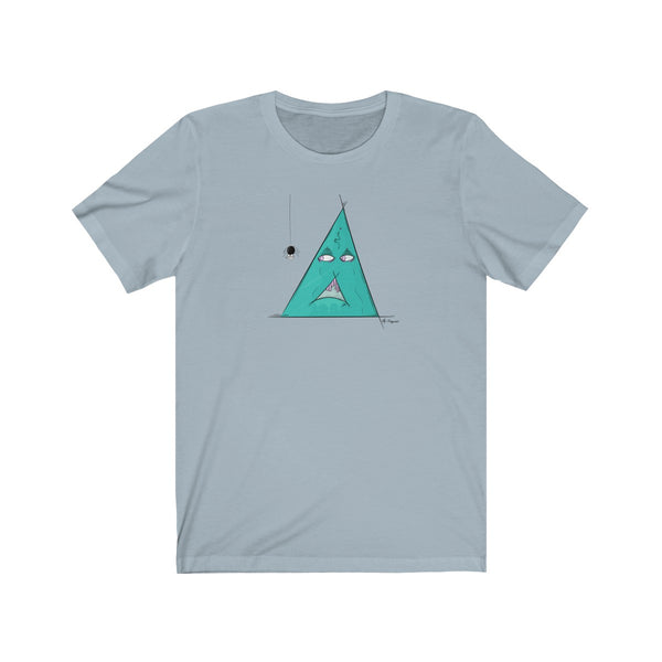 scared triangle tee dogependent
