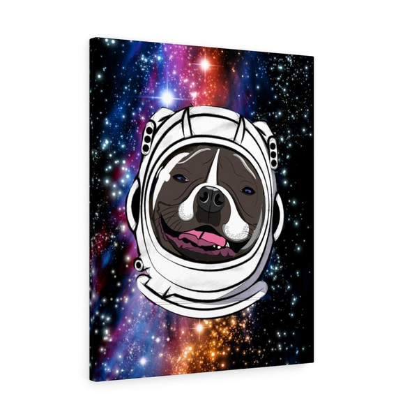 Your Dog on a Canvas in a Concept Created by You dogependent