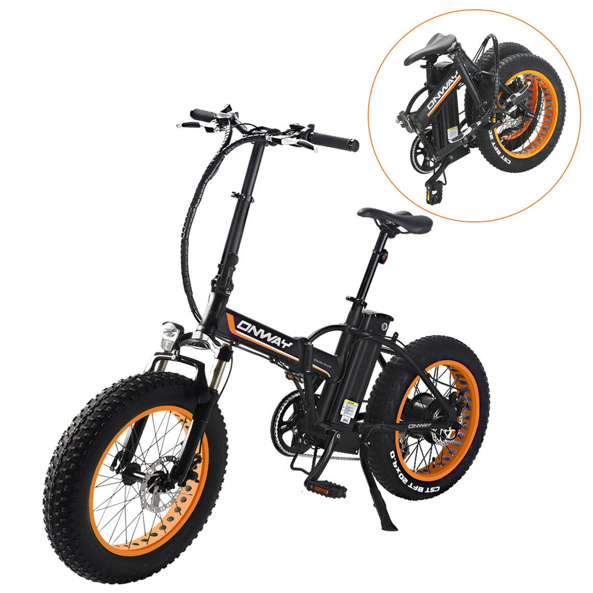 fat Tire 20'' 350W 36V system