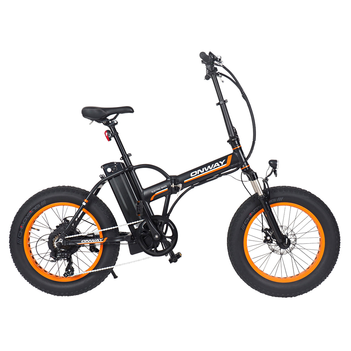 Folding Fat Tire E-bike