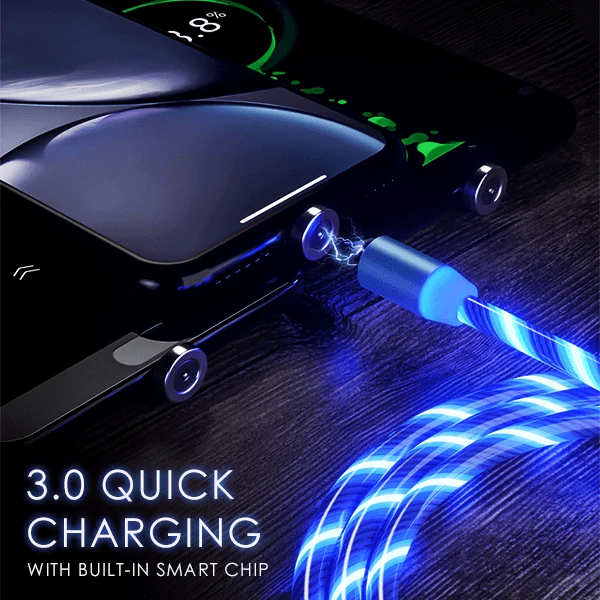 iGlo LED Magnetic USB Charging Cable - Free With eBike Purchase