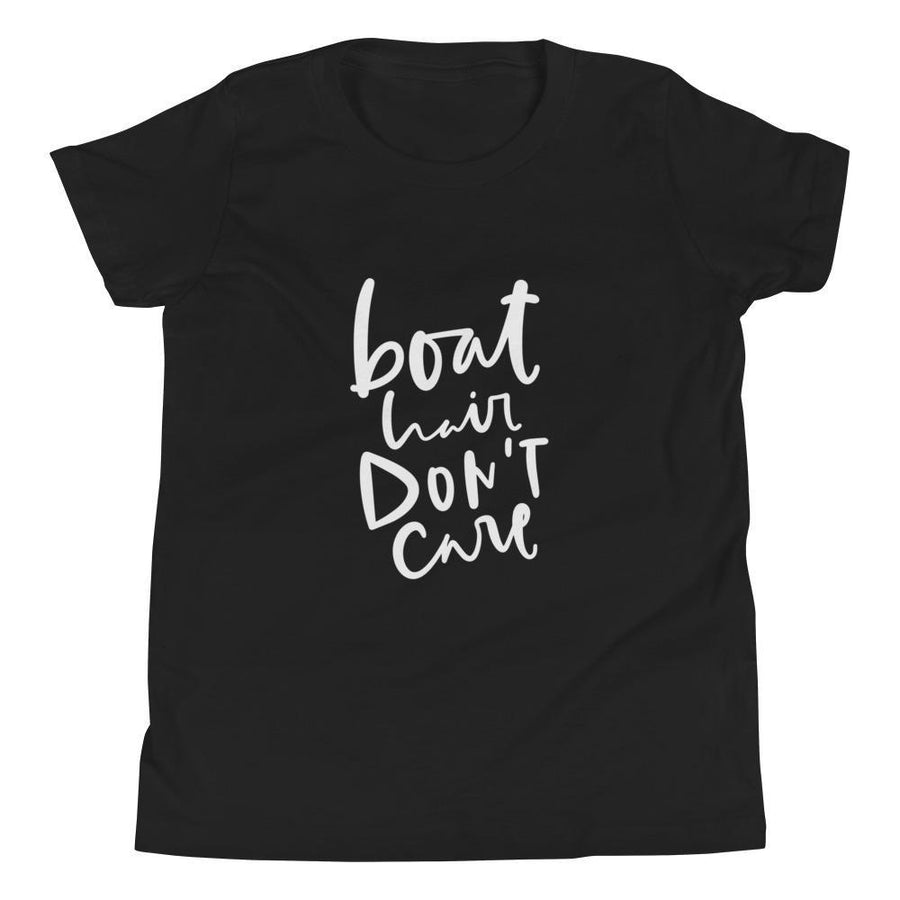 Boat Hair Youth Short Sleeve (2 Colours) - Boat Camping Short Sleeves Youth Shirt - Fashion Accessories