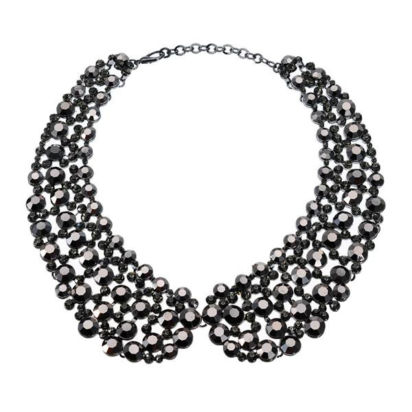Bring the Bling Holiday Statement Collar - Accessories Christmas Holidays Necklace - Fashion Accessories