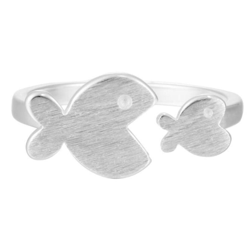 Chasing Bubbles Silver Ring - Accessories Coastal Lifestyle Fish Fish & Whale Collection Jewellery - Accessories