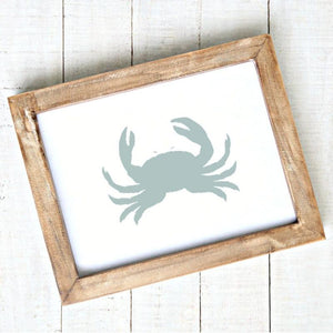 Crab Art Printable Coastal Artwork
