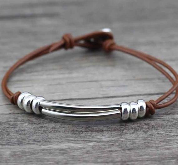 Driftwood Day Dream Leather Bracelet - Accessories Bracelets Coastal Lifestyle Jewellery Leather - Accessories