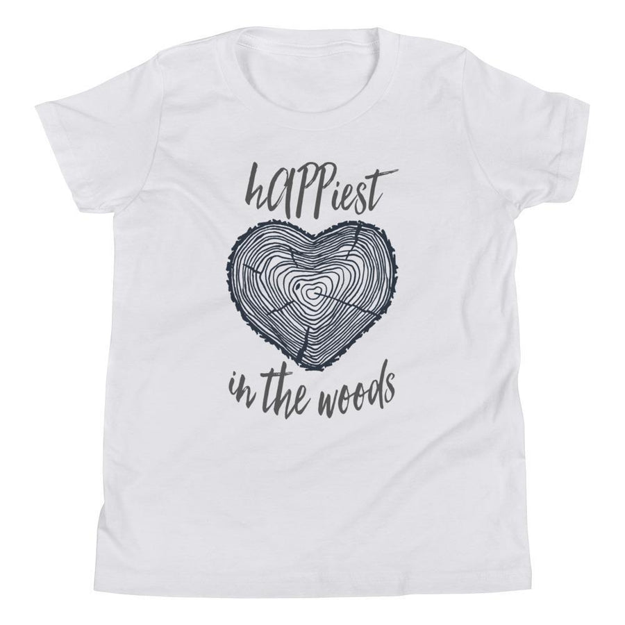 Happiest/Woods Youth Short Sleeve (2 Colours) - Short Sleeves The Woods Youth Shirt - Fashion Accessories