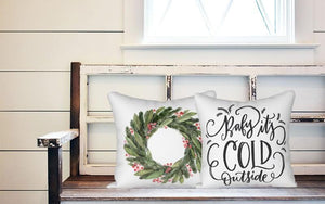 Holiday Pillow - Baby Its Cold Outside - Els PW 9383 woo_import_1