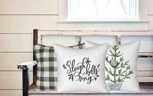 Holiday Pillow - Sleigh Bells Ring - Els PW 9383 woo_import_1