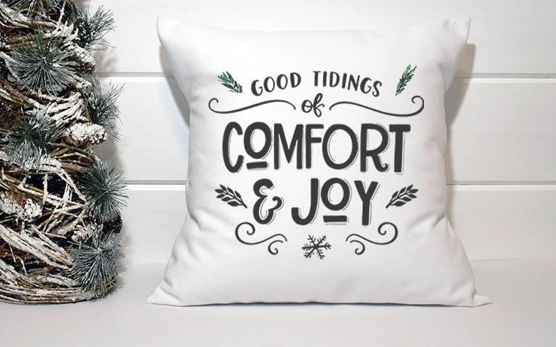 Holiday Pillow - Tidings of Comfort & Joy - Els PW 9383 woo_import_1