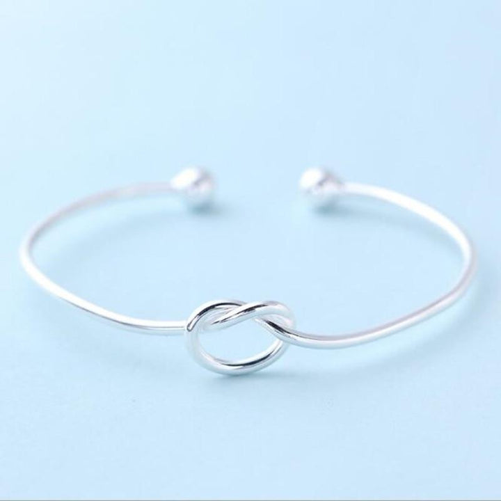Modern Knot Sterling Silver Bracelet - Accessories Bracelets Coastal Lifestyle Jewellery Silver - Accessories