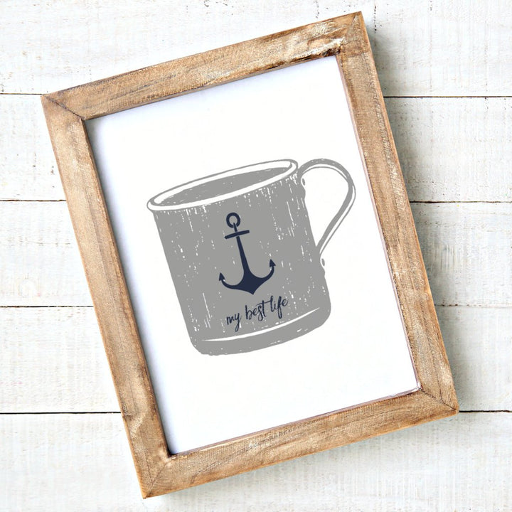 My Best Life - Sketched Mug - Printable Art - Downloadable - Art