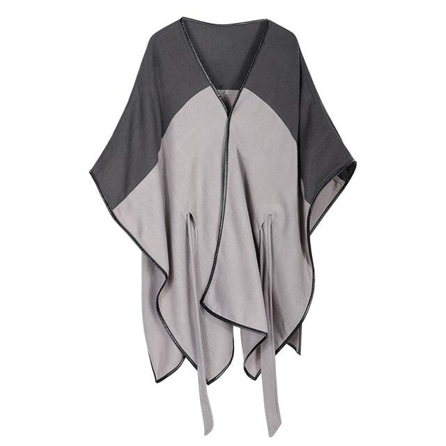 On the Town Belted Poncho Coat - Fall - Fashion Accessories