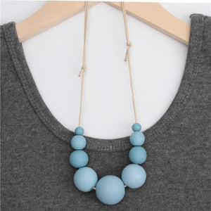 Pool Party Statement Necklace (9 Colours) - Accessories Aqua Black Coastal Lifestyle Gold - Accessories