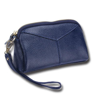 Saltwater Taffy Wristlet (Genuine Leather) - Accessories Bag Accessories Bags Black Coastal Lifestyle