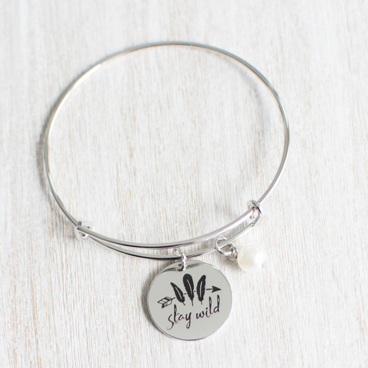 The Explorers Engraved Charm Bracelet - Accessories Bracelets Coastal Lifestyle Jewellery - Accessories