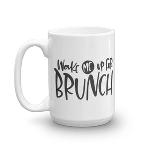Wake Me for Brunch Mug (Lake Days Mug Series) - Brunch Mug - Home Decor