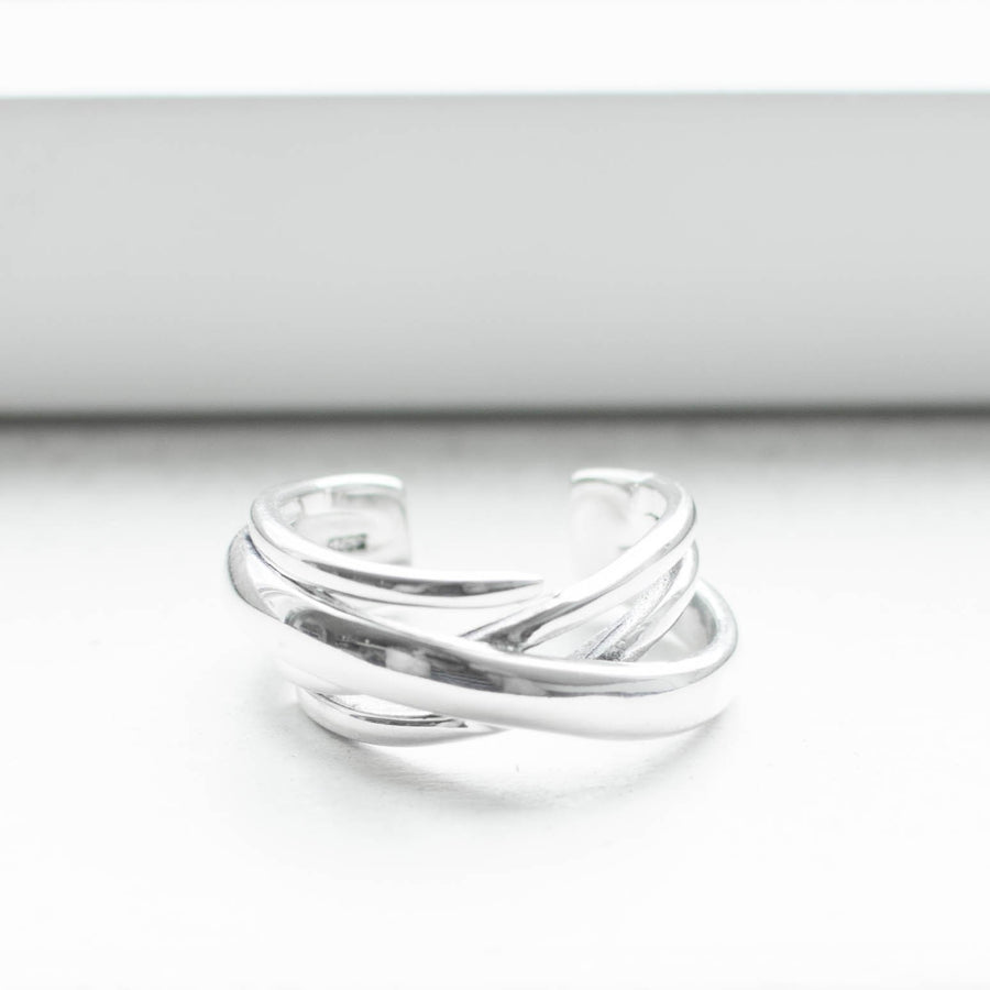 Windstorm Silver Ring - Fall Jewellery Rings Silver - Accessories