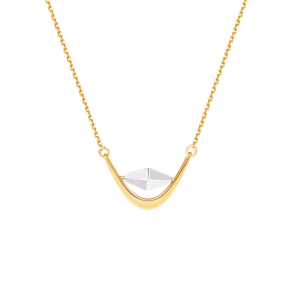 The Universe – The Ghost Ring of Saturn Necklace