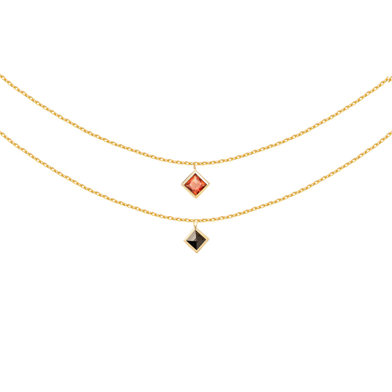 The Universe Bezel Setting Necklace
