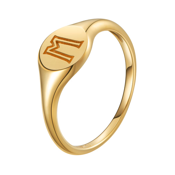 The Neo Signet Ring - For Women