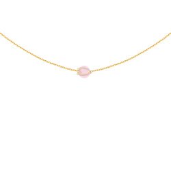 The Sakura Rose Quartz Necklace