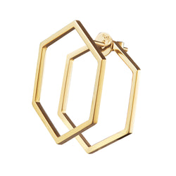 The Polygon Earring