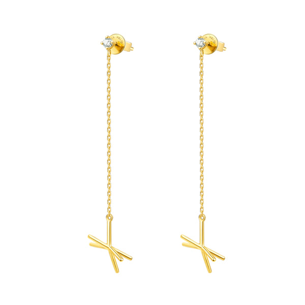 The Pulsar Chandelier Earrings