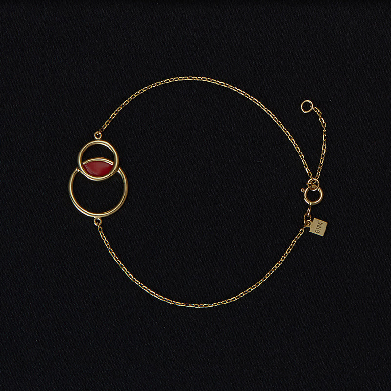 The Poppy Chain Bracelet