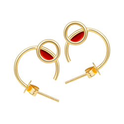 The Alluring Poppy Earrings