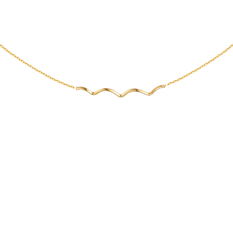 The Sparkling Ripples Necklace